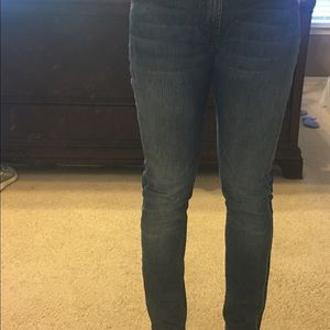 7 For All Mankind Pants - Seven for All Mankind Roxanne high-rise jeans